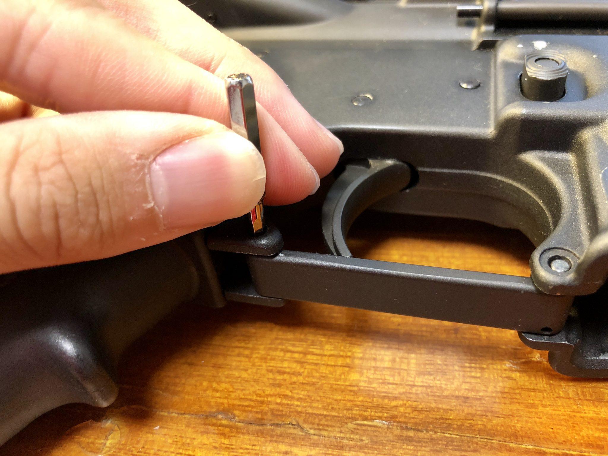 EC25A418 92E9 41AA 8A60 68C8019E7C2F - マグプル トリガーガードの取り付け