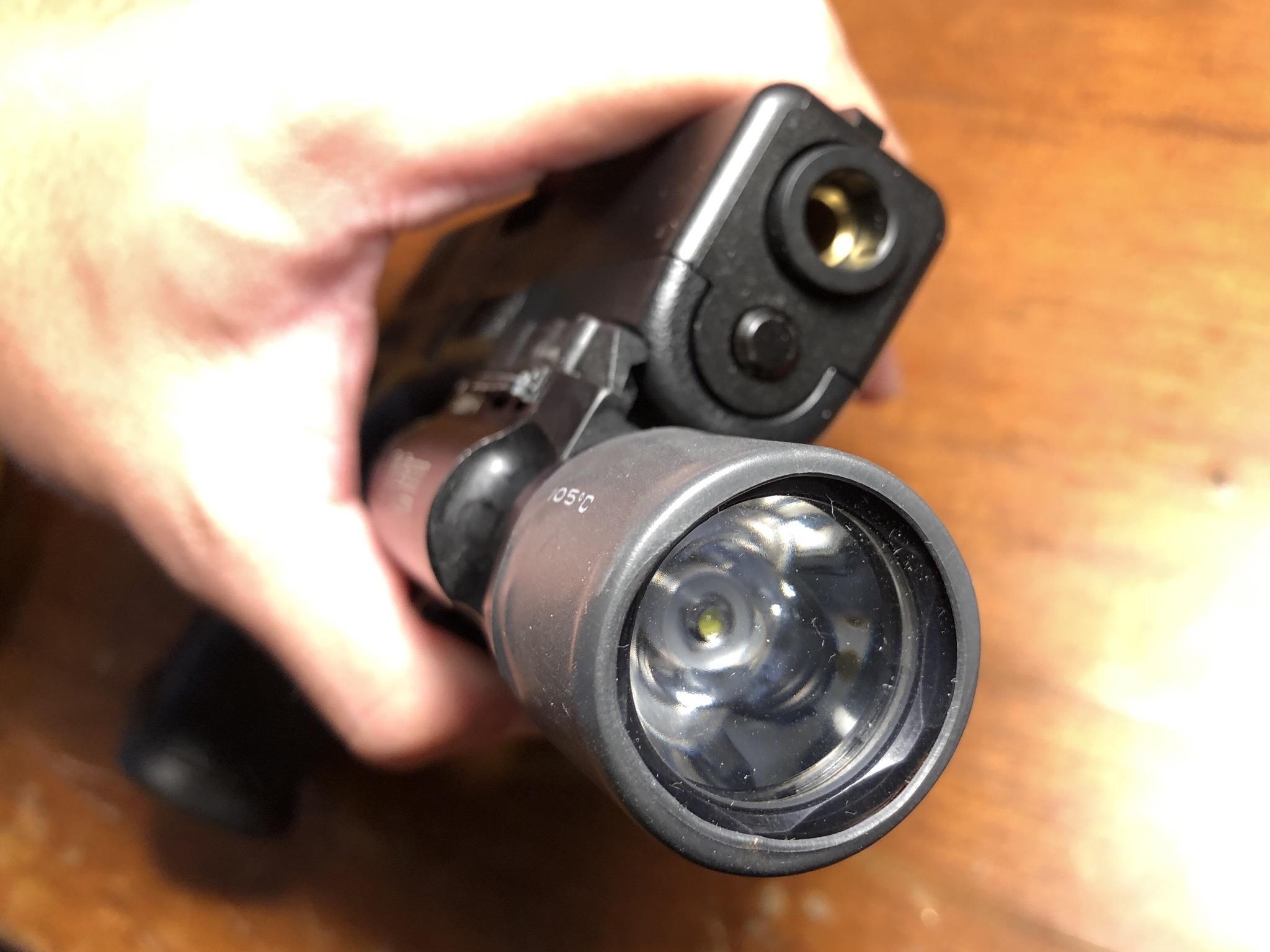 92DA1199 AA80 4F50 9C1F 1BB1D0BBE9B3 - surefire X300 レンズ補強