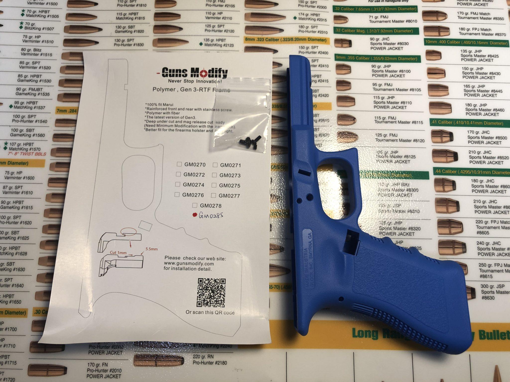 D130D04B 7F38 4806 8D61 B02791A9B3D1 - 可動トレーニングガン作ってみたpart1