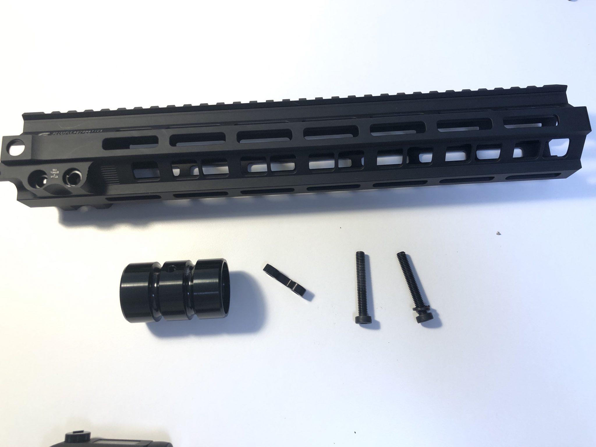 1AF292C8 FE2E 4980 A48F 81C43EDA239C - ガイズリー mk8レプリカハンドガードをインストールしてみた