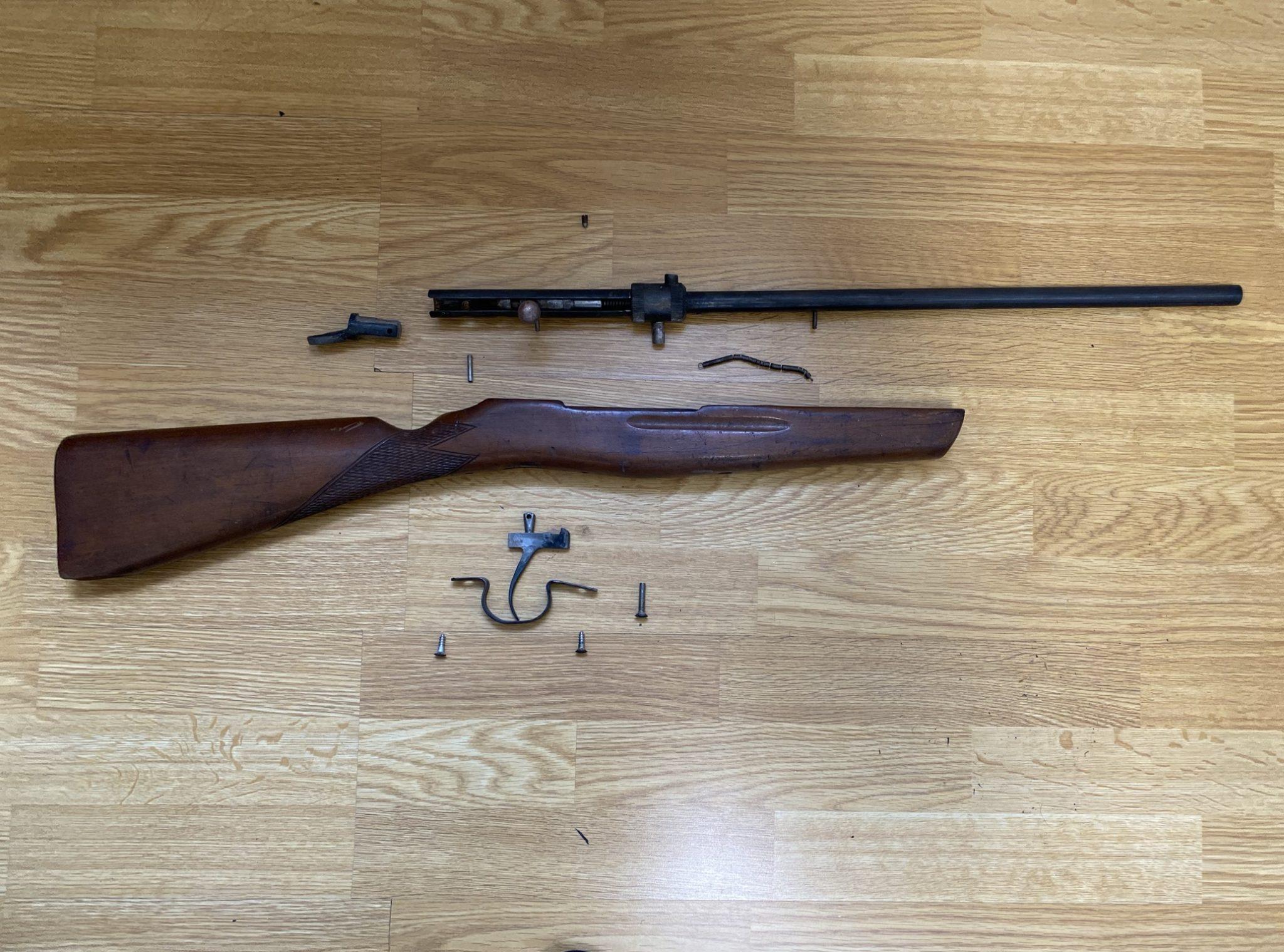 09226F22 435C 4EF7 8F5F 4ED444EF6678 - 射的銃(コルク)のレストアpart2