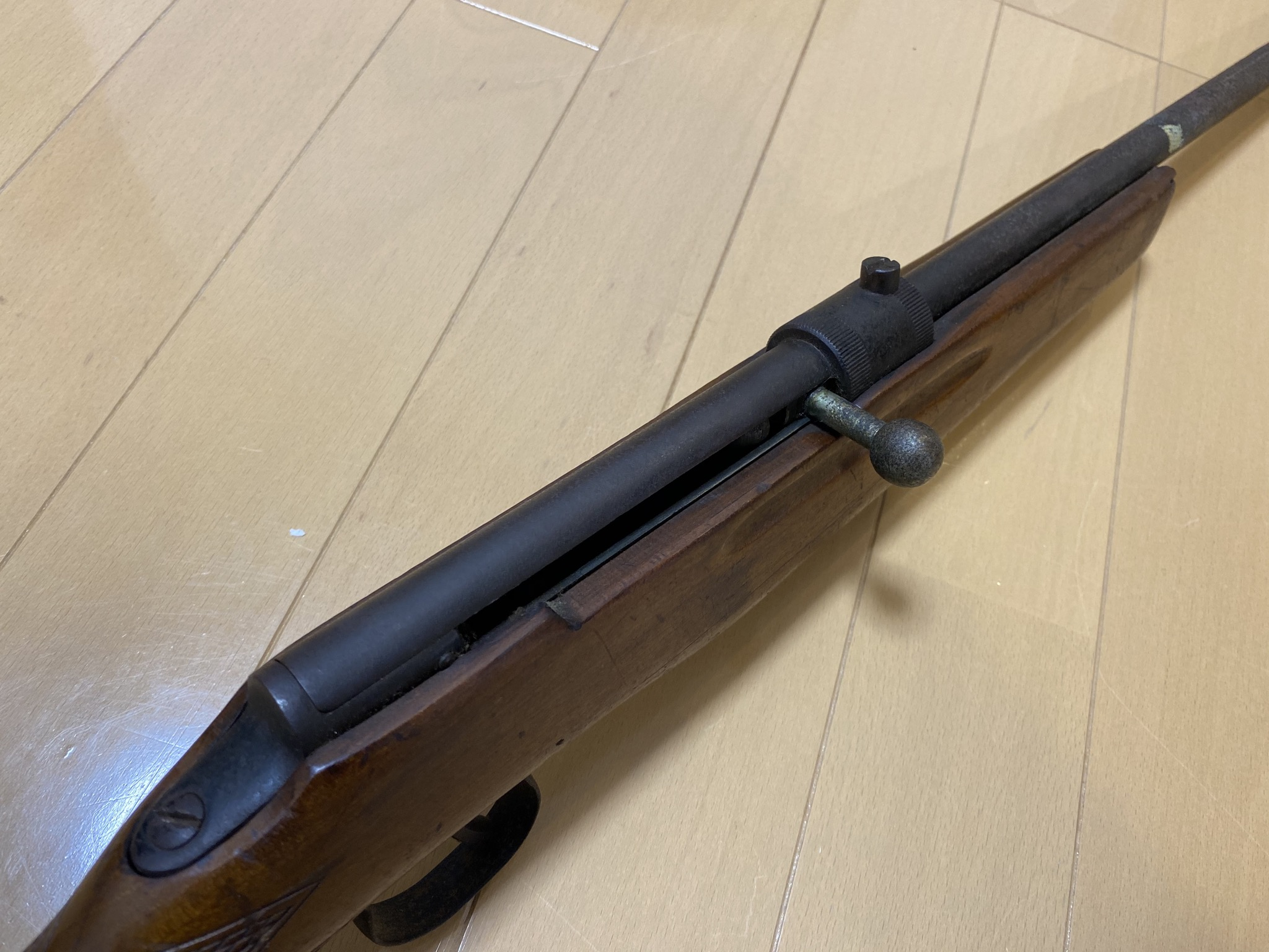 0A09B446 B378 45F0 9663 C24CB5041ADC - 射的銃(コルク)のレストアpart1