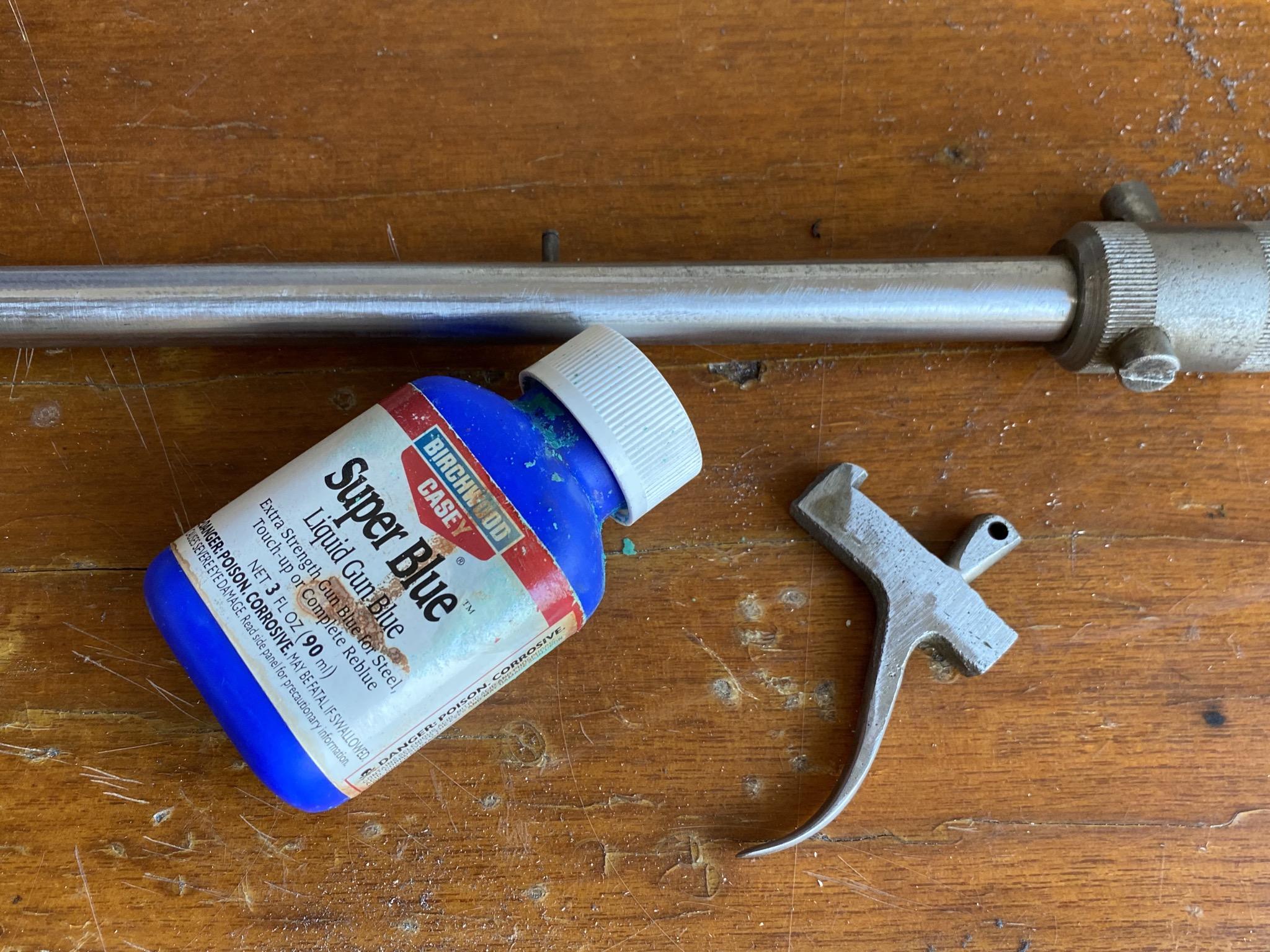 19DB19DD 9C80 4537 9704 FB9E0996852D - 射的銃(コルク)のレストアpart2